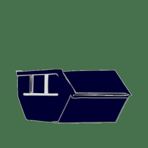 Material kann im Container bereit gestellt werden